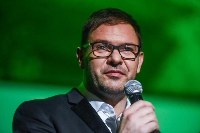 Tomasz Karolak ponownie z Violą Kołakowską.
