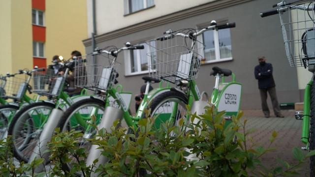 Rowery miejskie w Częstochowie znów działają. Otwarto kolejną stację.