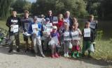 Zawody wędkarskie dla najmłodszych łodzian na łowisku przy ul. Milionowej - wzięło udział osiemnaścioro dzieci