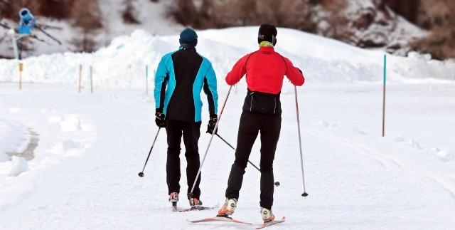Na narty biegowe można wybrać się do Parku Zielona oraz ma trasy wokół jezior Pogoria Zobacz kolejne zdjęcia/plansze. Przesuwaj zdjęcia w prawo - naciśnij strzałkę lub przycisk NASTĘPNE