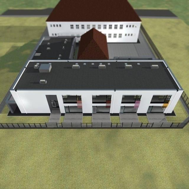 Tak mają wyglądać budynki szkolne po rozbudowie.
