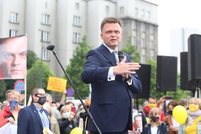 Szymon Hołownia - program wyborczy to trzy tezy: Polska solidarna, Polska zielona i Polska demokratyczna