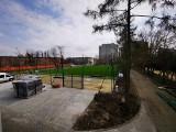 Kiedy będzie gotowe nowe boisko na Szczepinie? Znamy termin [ZDJĘCIA]