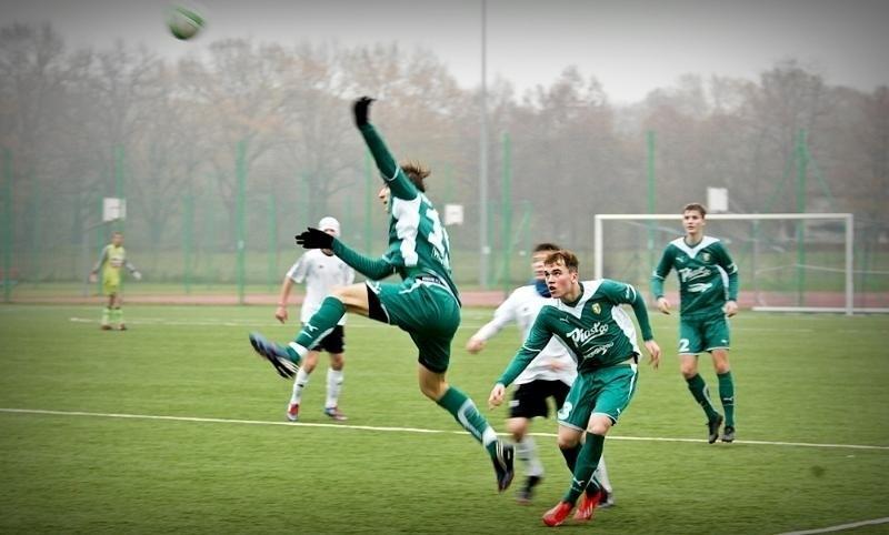Piłka nożna: Śląsk - Legia 3:3. Juniorzy starsi bliscy wygranej (ZDJĘCIA)