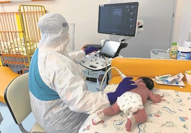 Dzieci Basi znalazły się pod opieką oddziału zakaźnego szpitala im. Żeromskiego