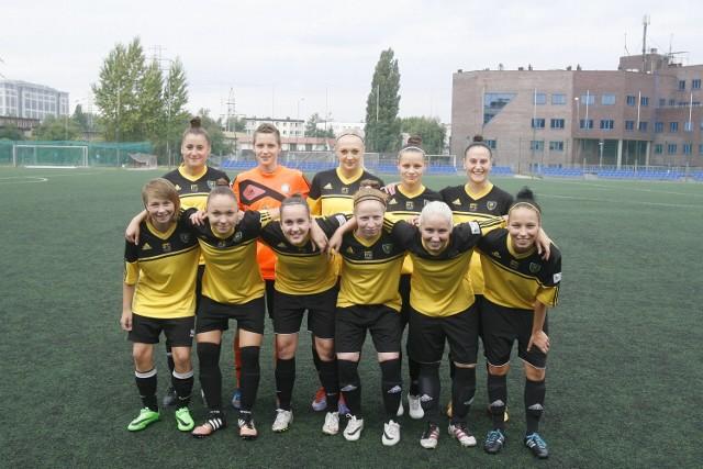 Piłkarki GKS Katowice wygrały mecz III ligi śląskiej z KKS II Zabrze 21:0