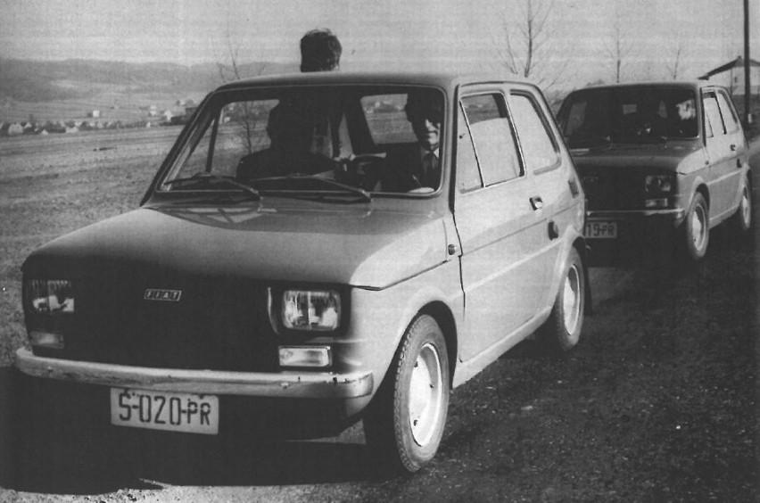 Trudno dziś w to uwierzyć, ale mały fiat był kiedyś marzeniem wielu Polaków. Właściwie to malutkie autko niepodobne do samochodu zrewolucjonizowało polską motoryzację. W nim odbijaliśmy się od dna. Ale maluch to nie wszystko. Czym jeszcze jeździliśmy? Zapraszamy do obejrzenia zdjęć z archiwum nto!