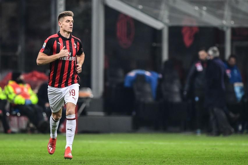 Krzysztof Piątek zadebiutował w barwach AC Milan. Polak wszedł do gry w 71. minucie