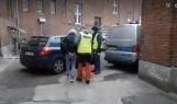 Kobieta, która zdemolowała stację paliw w Rymaniu, została doprowadzona na przesłuchanie FILM