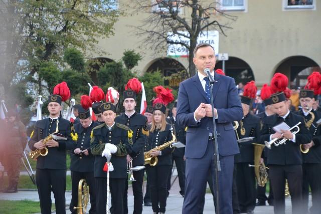 Prezydent RP Andrzej Duda nie pierwszy raz przyjeżdża na Śląsk