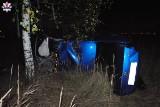 Tragiczny wypadek w pow. lubartowskim. W zderzeniu osobówki z łosiem zginęła jedna osoba