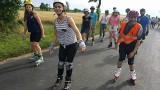 Pielgrzymi na rolkach docierają do Kluczborka