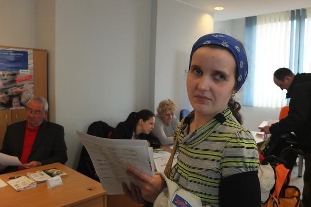 Gabriela Labisz dwa lata temu skończyła technikum ekonomiczne i od tego czasu szuka pracy biurowej albo w handlu.