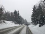 Atak zimy w górach. Zakopianka była zablokowana [ZDJĘCIA, WIDEO]