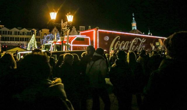 Pierwszym miastem na trasie świątecznej ciężarówki Coca-Coli jest Rybnik.