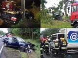 Wypadki: Czarny piątek na drogach [zdjęcia]