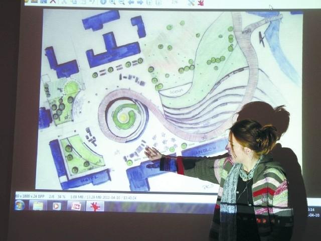 Propagowanie wielokulturowości Supraśla. To byłoby najważniejsze zadanie muzeum – mówi Kaja Woyciechowska, studentka architektury.  Jej projekt przewiduje też m.in. powstanie ośrodka SPA.