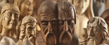 Na wystawę składa się kilkadziesiąt prac artysty. Są to rzeźby reprezentujące dwa główne nurty występujące w jego twórczości-świecki i sakralny.