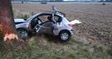 Śmiertelny wypadek między Starkowem a Zaleskimi. Nie żyje kierowca peugeota
