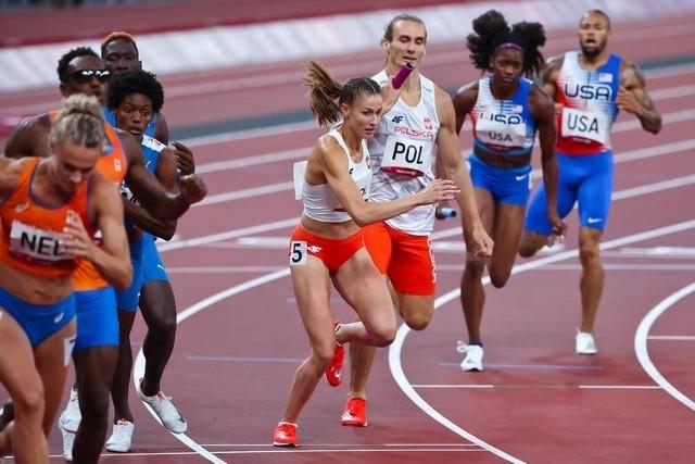 Natalia Kaczmarek na igrzyskach olimpijsko w Tokio