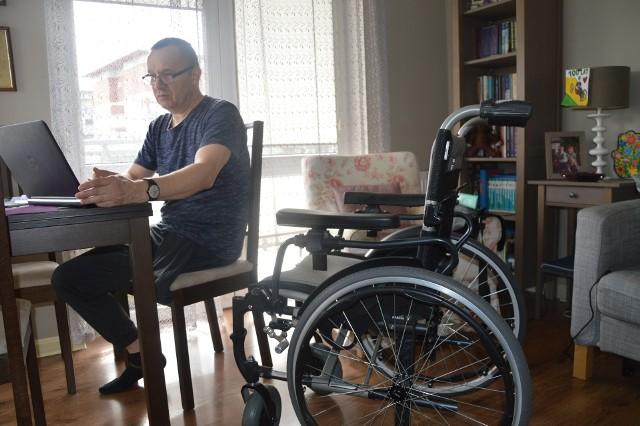 Marek Stachowski potrzebuje nowej protezy. Zielonogórzanin chciałby pozostać aktywny zawodowo