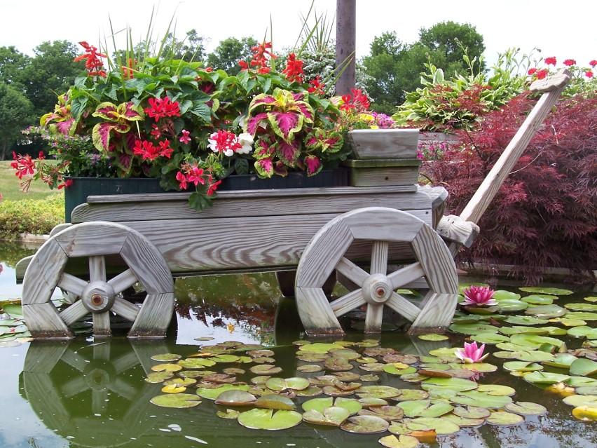 Ogród w stylu wiejskim...