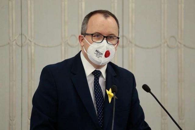 Wczoraj Trybunał Konstytucyjny orzekł w sprawie zaskarżonego przez grupę posłów PiS przepisu dot. Rzecznika Praw Obywatelskich. (Na zdjęciu Adam Bodnar)