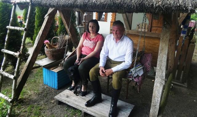 Zagroda Agnieszki i Edwarda Piórkowskich w Bandysiach gm. Czarnia