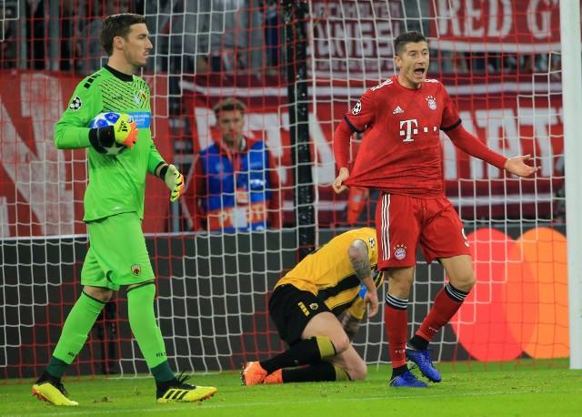 Robert Lewandowski strzelił w tym sezonie już trzynaście goli dla Bayernu Monachium. W ostatnim meczu Ligi Mistrzów z AEK Ateny zdobył dwie bramki