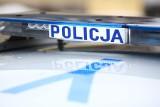 Kierowca chciał rozjechać policjanta. Pościg i strzał w Barcinie