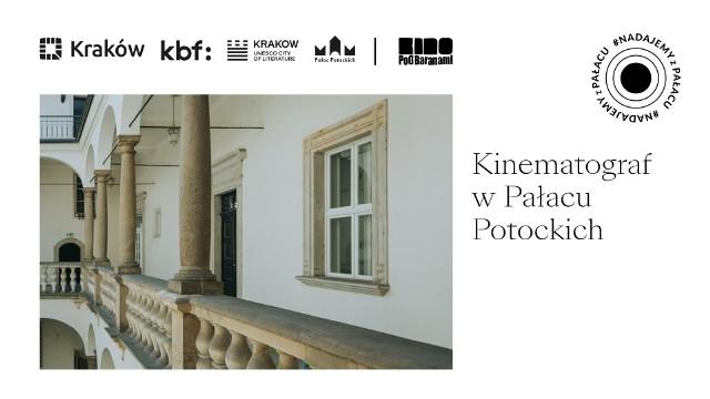 Kinematograf w Pałacu Potockich to kino letnie w wyjątkowym otoczeniu
