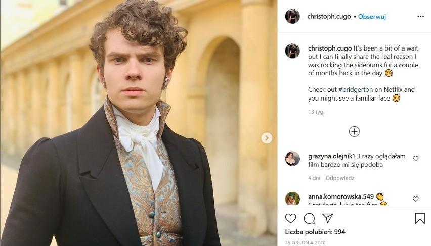 Najmłodszy syn Krzysztofa Cugowskiego - Chris, zagrał w najpopularniejszym serialu Netflixa ostatnich miesięcy