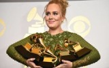 Nagrody Grammy 2017. Adele dostała pięć statuetek, pokonała Beyonce