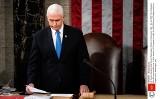 Fotograf Reutera Jim Bourg: szturmujący Kapitol mówili, że chcą pojmać wiceprezydenta USA Mike'a Pence'a i powiesić go!