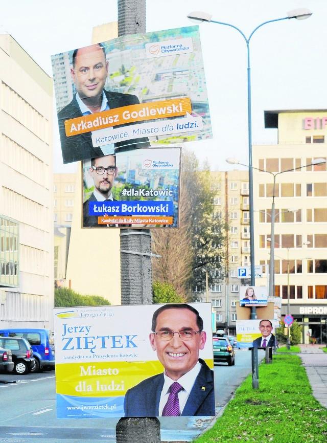 Zakaz plakatów wyborczych w Katowicach - to może się udać