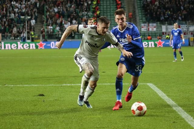 Ostatni mecz rywala szczecińskich piłkarzy – Legia warszawa - Leicester City (30.09.2021)