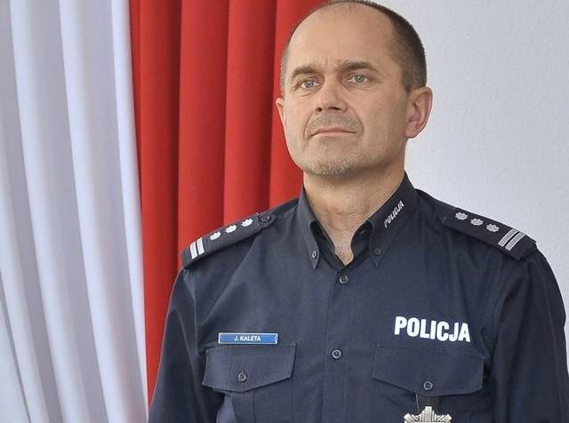 Nadinspektor Jarosław Kaleta na czele opolskiej policji stoi od maja 2016 roku i to właśnie podczas służby w Opolu zdobył szlify generalskie.