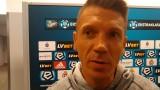 Łukasz Garguła po meczu Wisła Kraków - Miedź Legnica: Możemy mieć pretensje tylko do siebie [WIDEO]