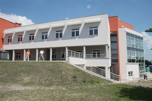 Budowa oddziału Kardiochirurgii wraz z wyposażeniem kosztowała około 22,5 mln złotych. Tak obiekt wygląda na zewnątrz. fot. D. Łukasik
