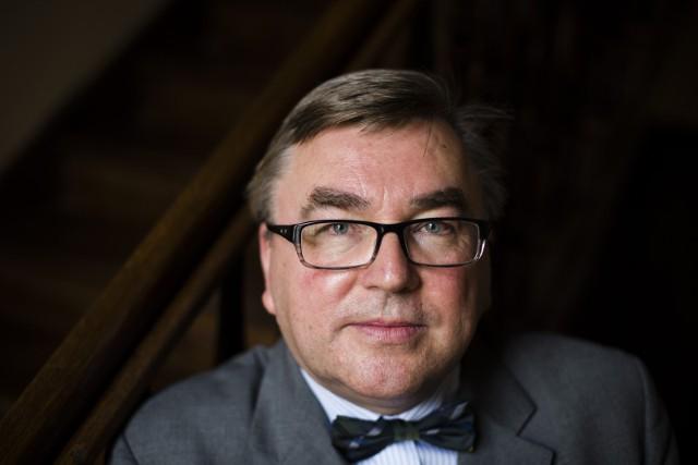 Prof. Marek Bankowicz z Uniwersytetu Jagiellońskiego