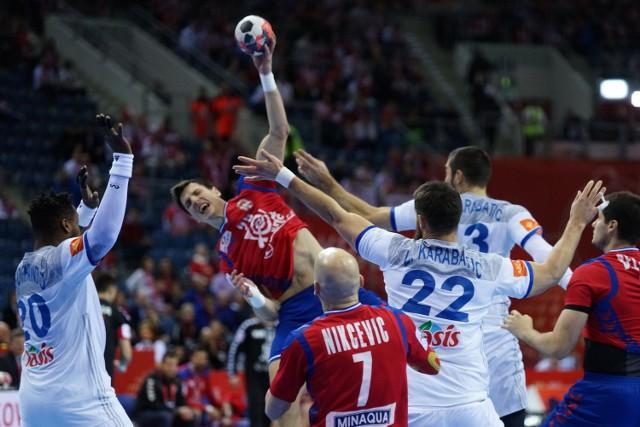 We wtorek na zakończenie pierwszej fazy mistrzostw Europy w piłce ręcznej Polacy zagrają z Francją o pierwsze miejsce w grupie A.fot. michal gaciarz / polska press gazeta krakowska