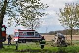 Dwa poważne wypadki w okolicy Pleszewa. Samochody zderzyły się w Bogusławiu. Doszło też do kolizji w Galewie