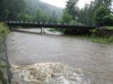 Rzeki w powiecie nyskim przekroczyły stany alarmowe