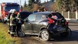 Dwie osoby poszkodowane w wypadku na drodze krajowej 72 pod Brzezinami