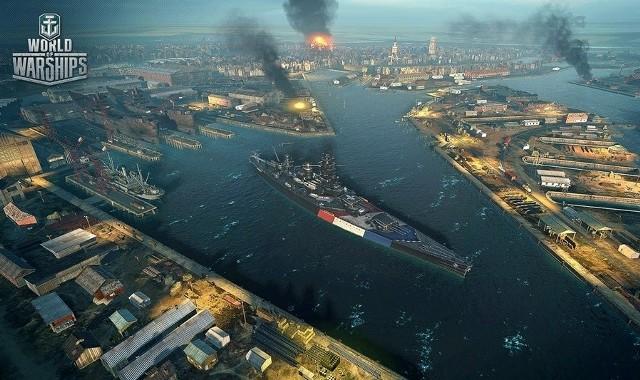 World of WarshipsDunkierka w grze World of Warships