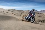 Maciej Giemza i Adam Tomiczek na podium klasyfikacji juniorów rajdu Rally Atacama