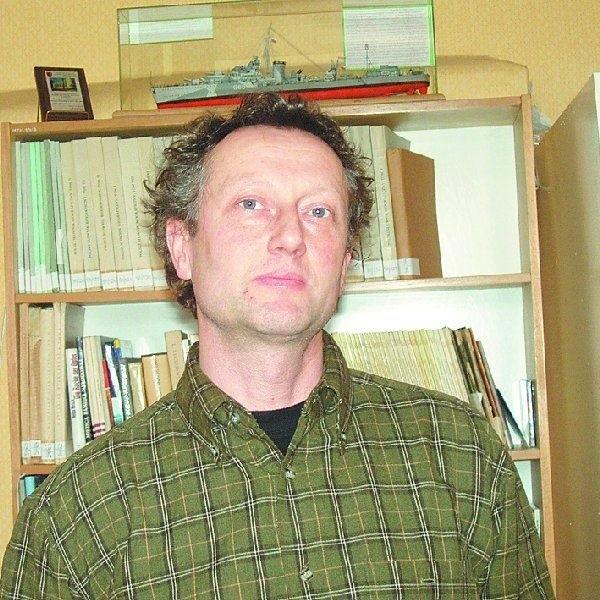 Andrzej Sołtysiak od kilku dni kieruje Muzem Ziemi  Krajeńskiej w Nakle.