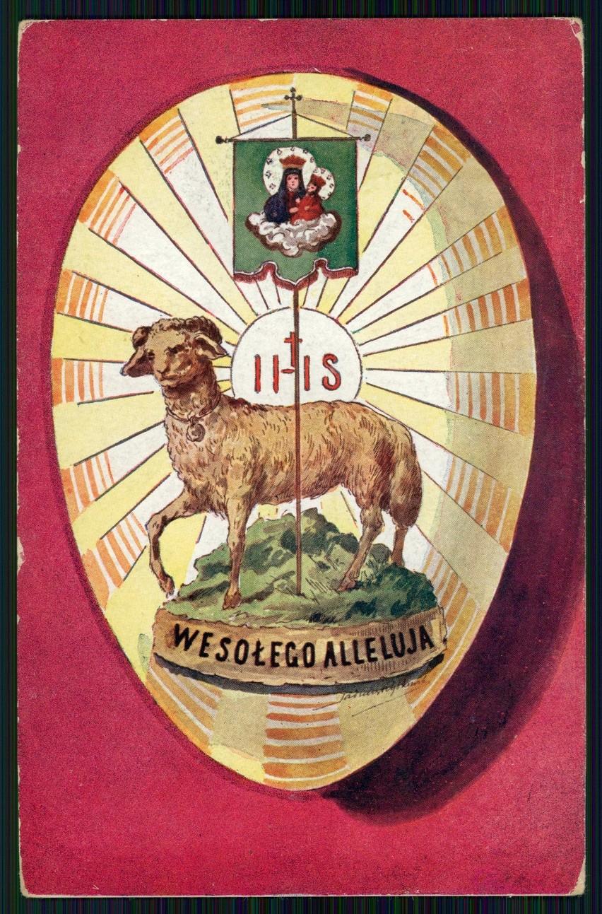 Wesołego Alleluja! Zobacz wielkanocne kartki z początku XX. wieku