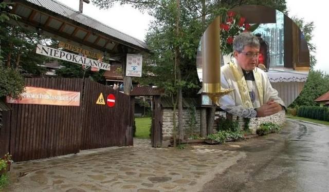 """Piotr Natanek nie jest już księdzem, ale nadal gromadzi wiernych w Grzechyni w pow. suskim. Jego """"kazania"""" wciąż można znaleźć też w internecie"""