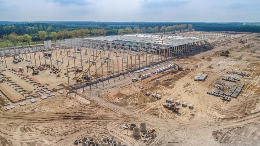 W gminie Przytoczna powstaje nowe centrum logistyczne. Pracę znajdzie tam kilkaset osób